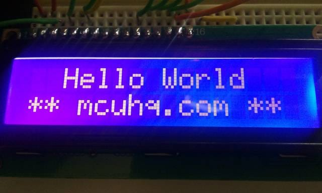 HD44780 LCD Driver for a PIC | mcuhq